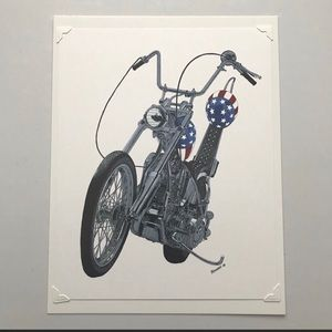 Easy Rider Print. 👍🇺🇸👍Perfect Biker Presen…
